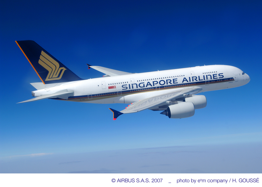 Singapore Airlines si objednaly 39 letadel Boeing