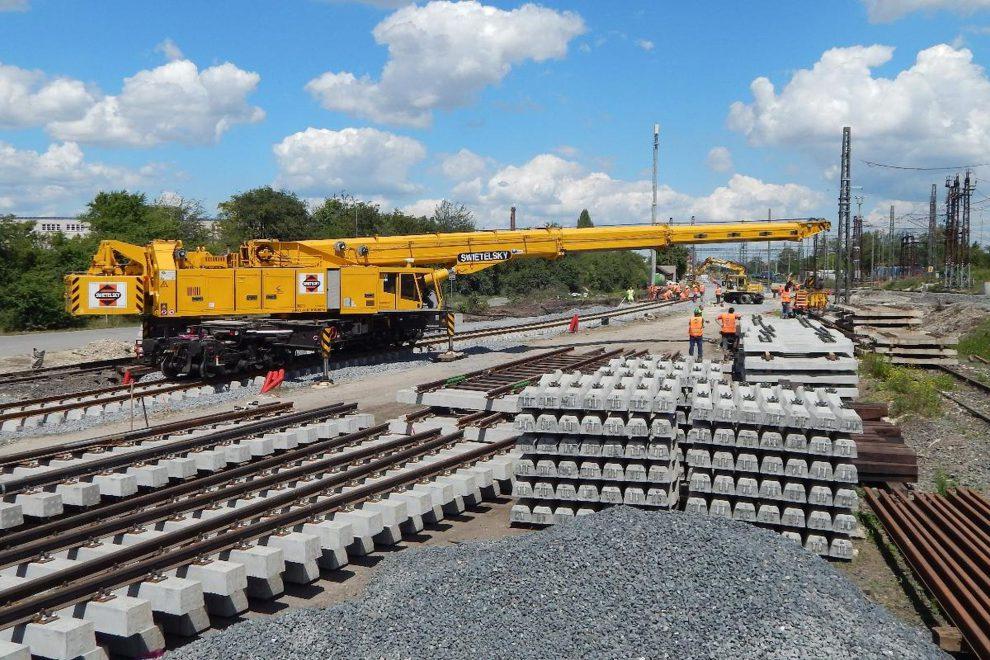 Dvě české firmy se budou podílet na rekonstrukci železnic v SR