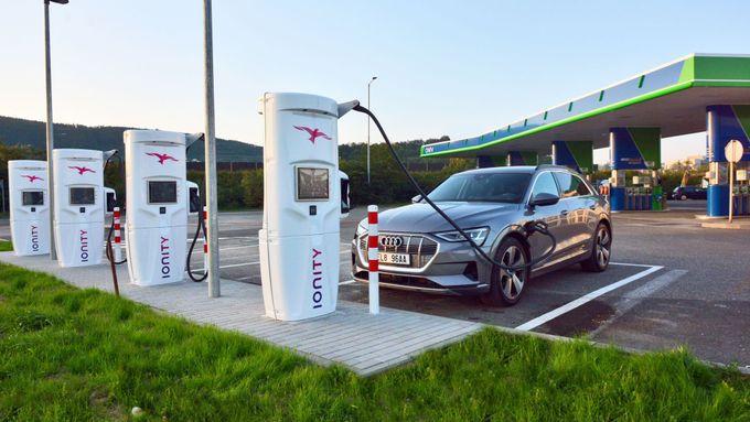 IONITY otevřela nejrychlejší dobíječku elektromobilů v Česku