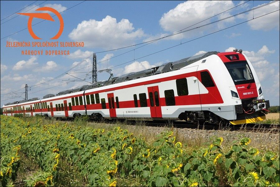 Slovenské státní železnice ukázaly elektrickou jednotku od Škody