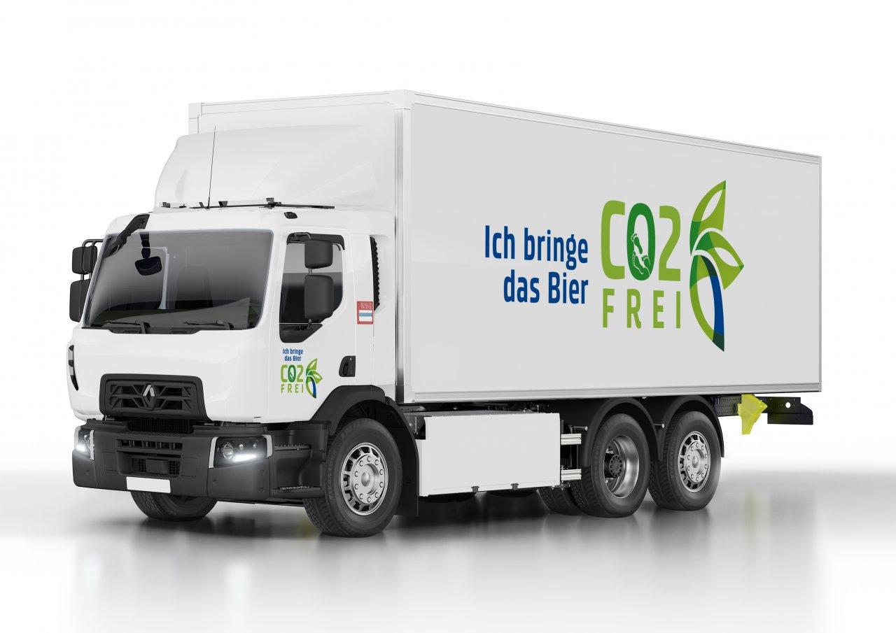 Renault Trucks uzavřel smlouvu se skupinou Carlsberg o dodávce 20 modelů 100% elektrických vozidel