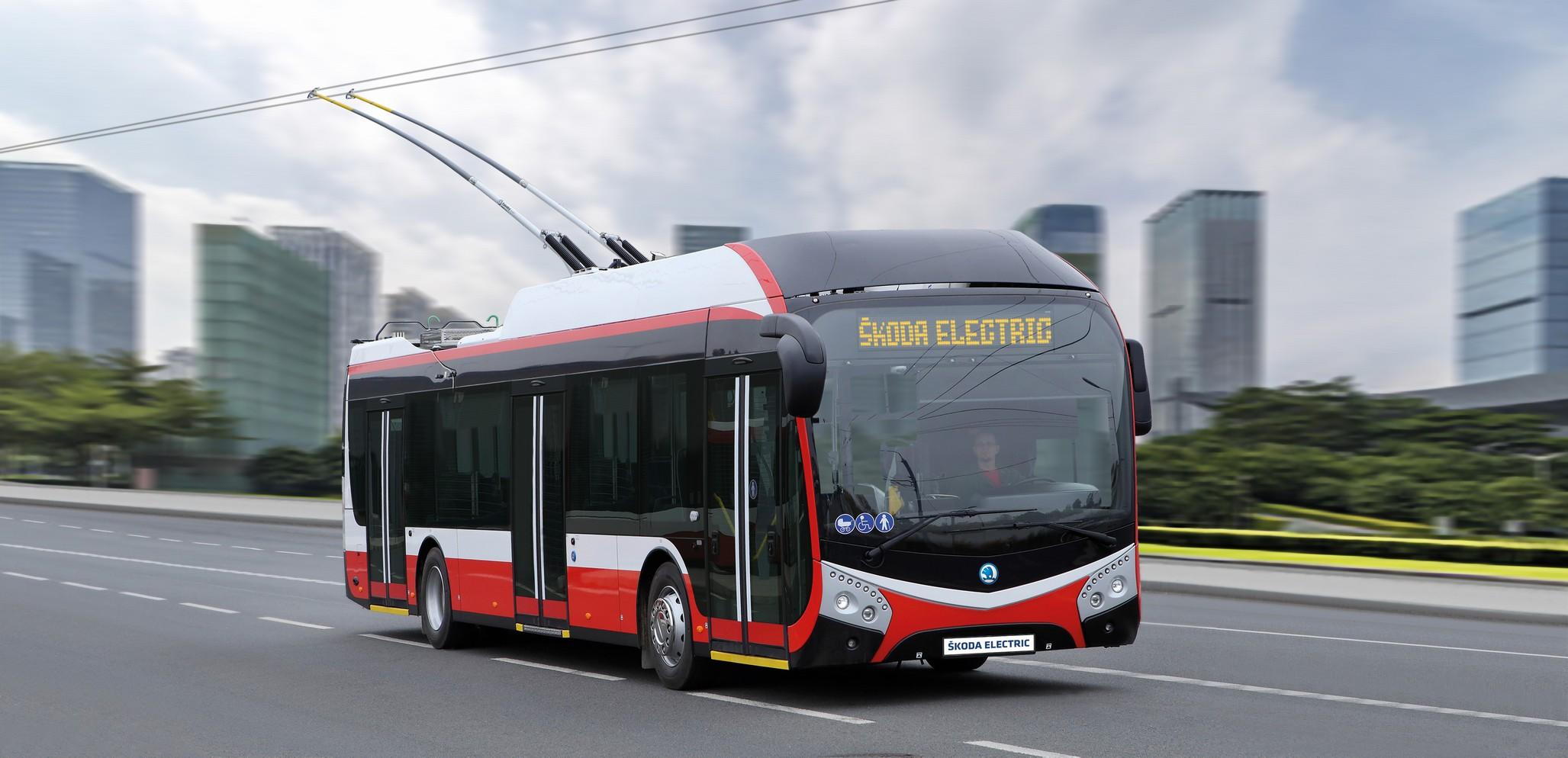 Plzeňská Škoda Electric dodá Opavě pět trolejbusů za 57 milionů