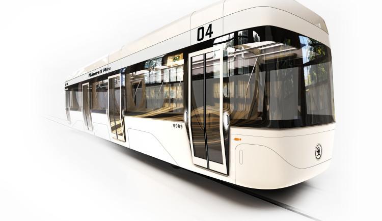 Plzeňští studenti jako vizi dopravy ukázali tramvaje bez řidiče