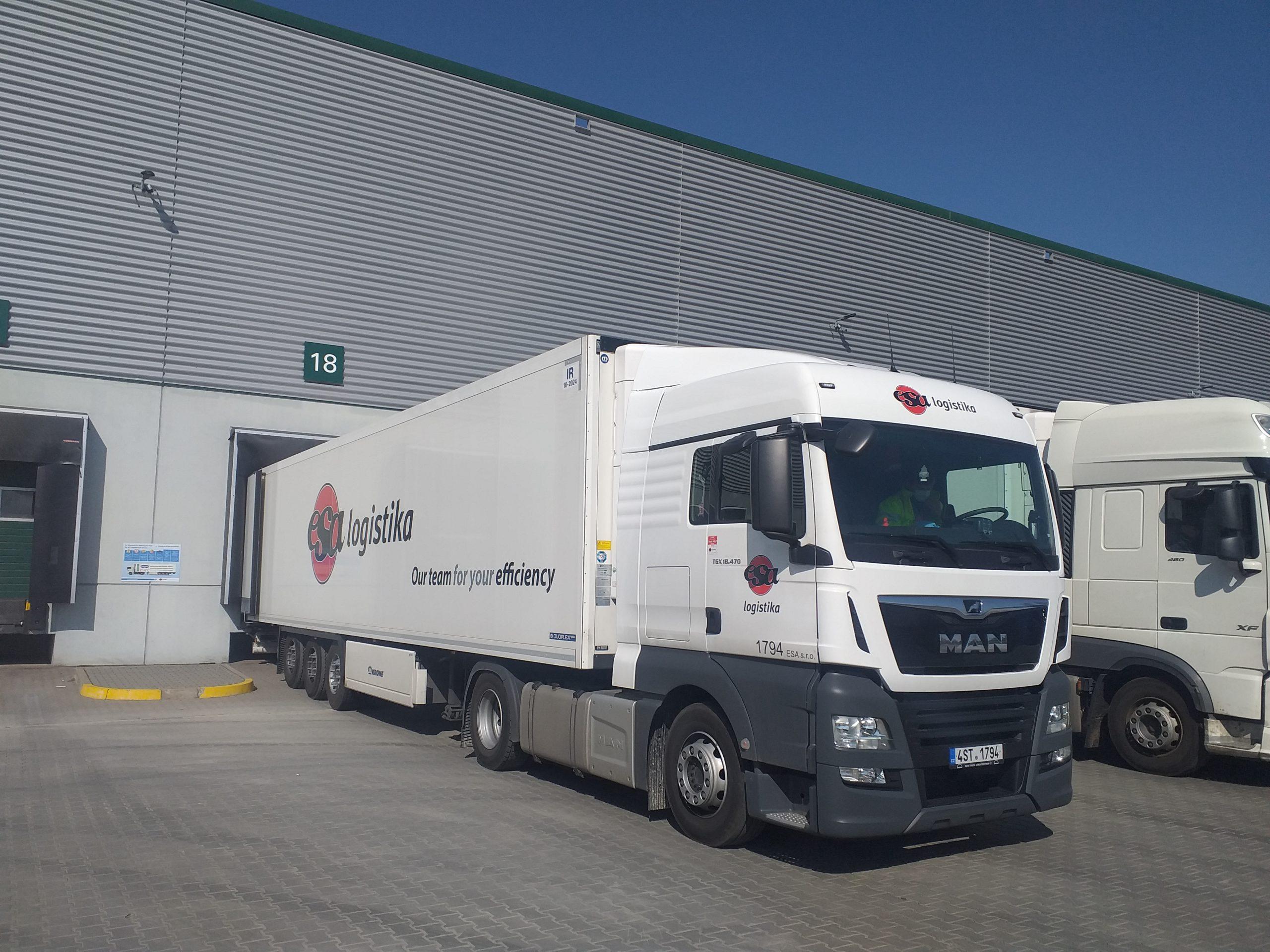 ESA logistika proti koronaviru