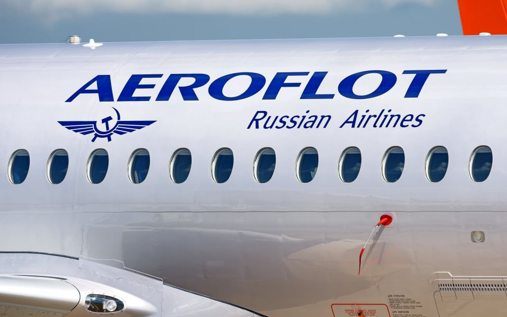 Aeroflot přepravuje lidi přes hranice i přes zákaz letů