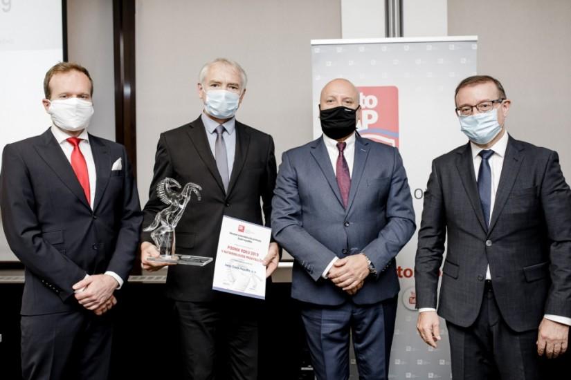 Iveco Czech Republic opět Podnikem roku v autoprůmyslu