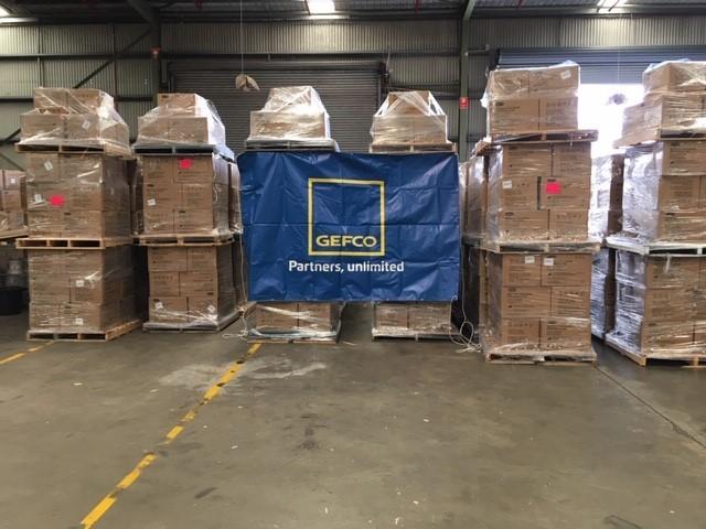 GEFCO přepravilo 50 milionů ochranných masek  z Číny do Austrálie