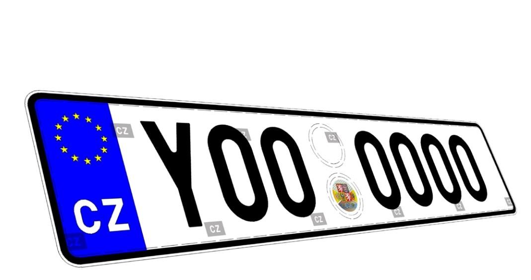 Registrační značky na auta bude dál dodávat Security Paper Mill