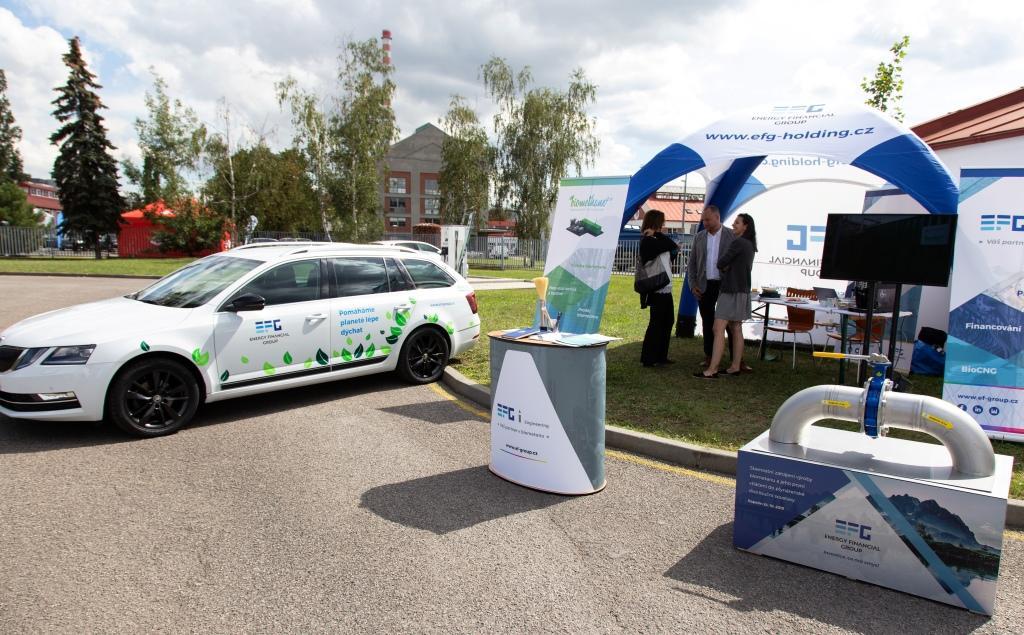 EFG na Dnu plynové mobility mluvilo o budoucnosti BioCNG z odpadu
