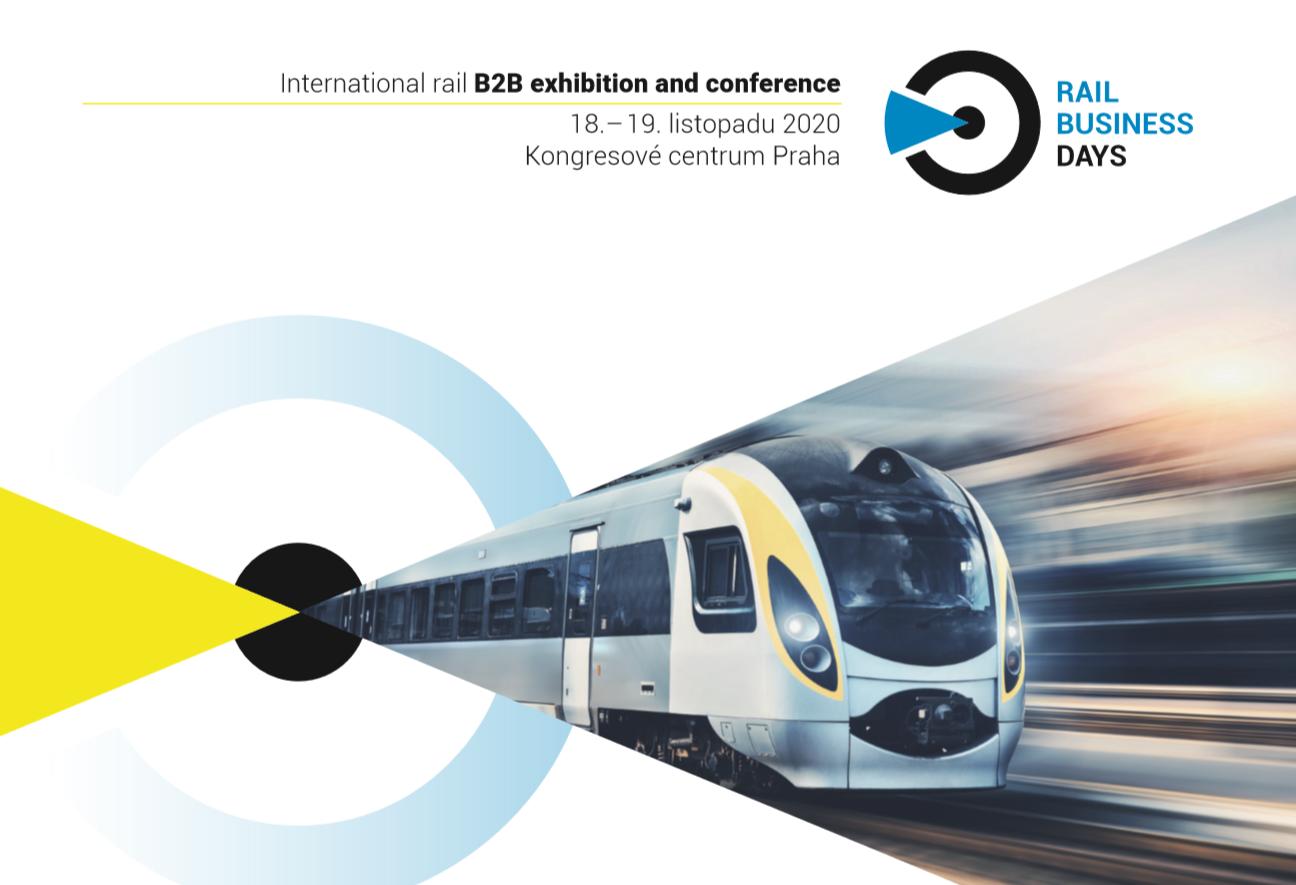 RAIL BUSINESS DAYS je setkáním firem a odborníků v oboru kolejové dopravy