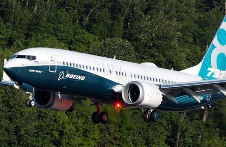 Evropský regulátor dokončil zkušební lety Boeingu 737 MAX