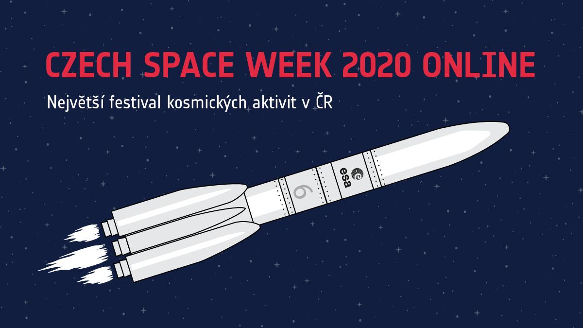 Letošní Czech Space Week proběhne online. Nabídne poutavé přednášky i živé debaty s vědci