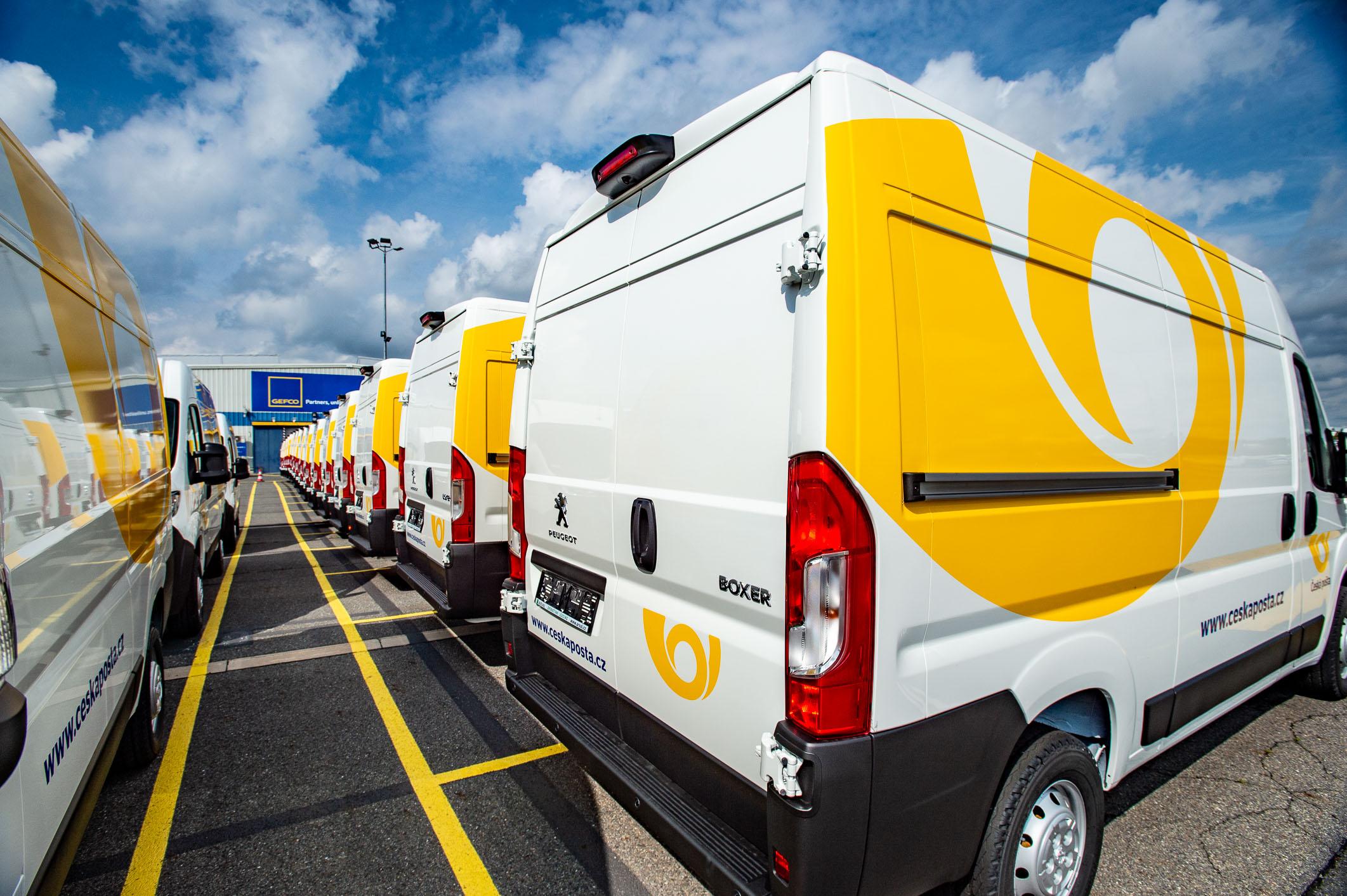 GEFCO z Kolína odbavilo největší fleetovou zakázku v historii firmy
