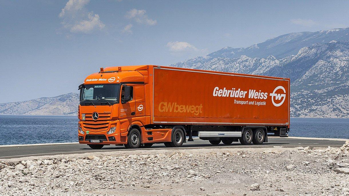 První místo za Top logistický projekt získává Gebrüder Weiss