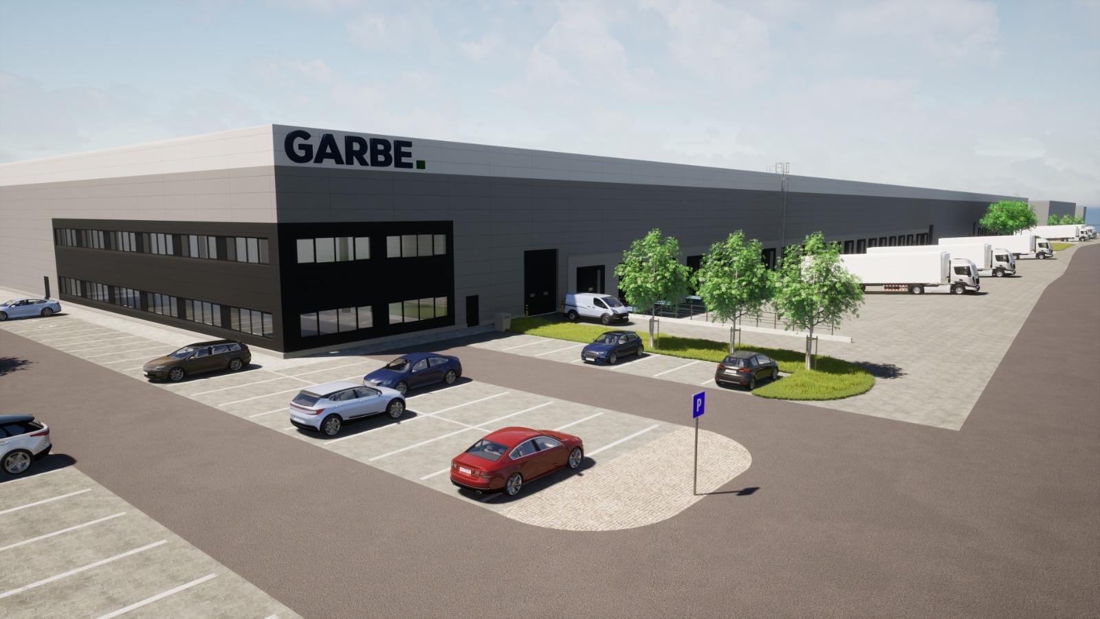 Garbe se na českém trhu uvedlo koupí brownfieldu o rozloze 65 000 m2 v Chomutově
