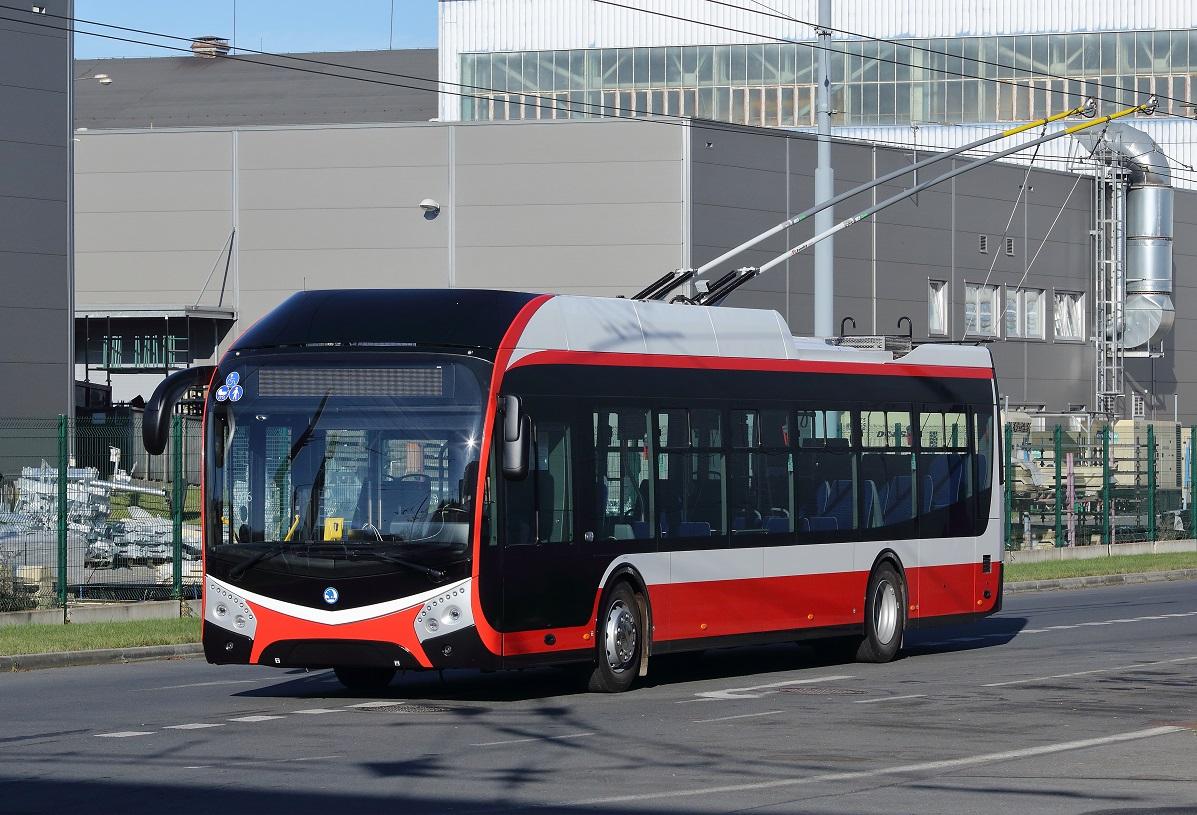 Ekologické trolejbusy Škoda posílí hromadnou dopravu v Opavě