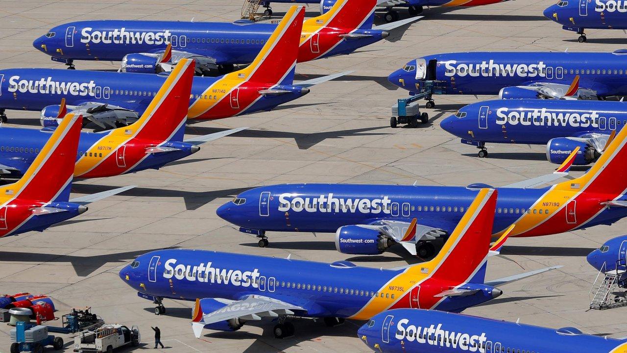 Boeing zaplatí kvůli letounu typu 737 MAX 2,5 miliardy dolarů