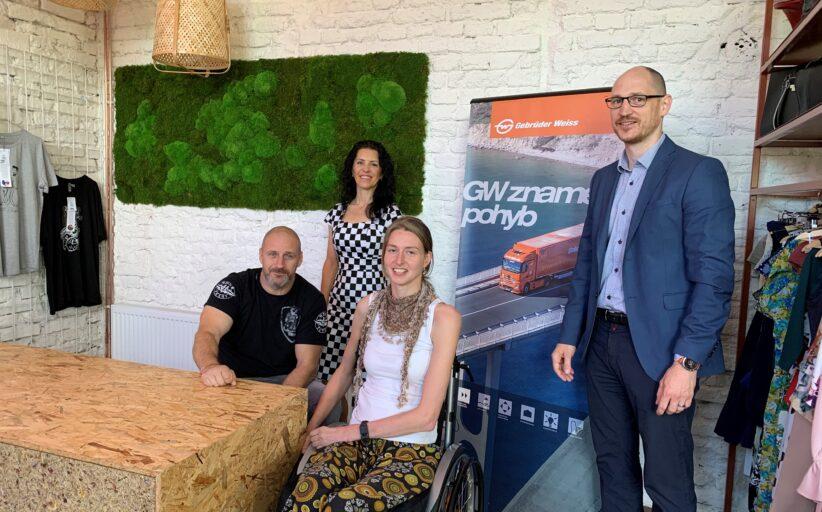 Gebrüder Weiss dlouhodobě podporuje asociaci paraplegiků CZEPA