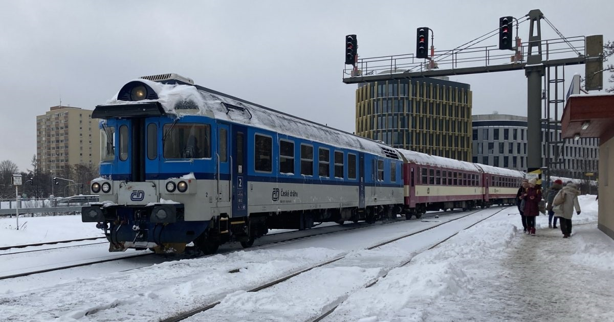 Od neděle přestali jezdit České dráhy do Německa