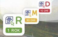 Nezapomeňte sundat staré dálniční známky – kontrola bude už jen elektronicky