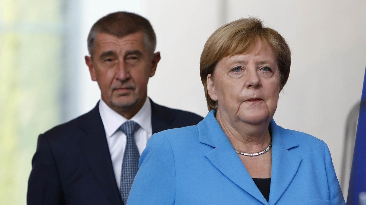 Merkelová slíbila, že testy pro řidiče kamionů už nebudou