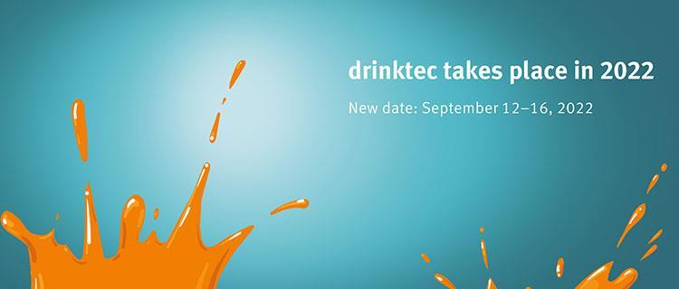 Termín veletrhu Drinktec se posouvá na září 2022!