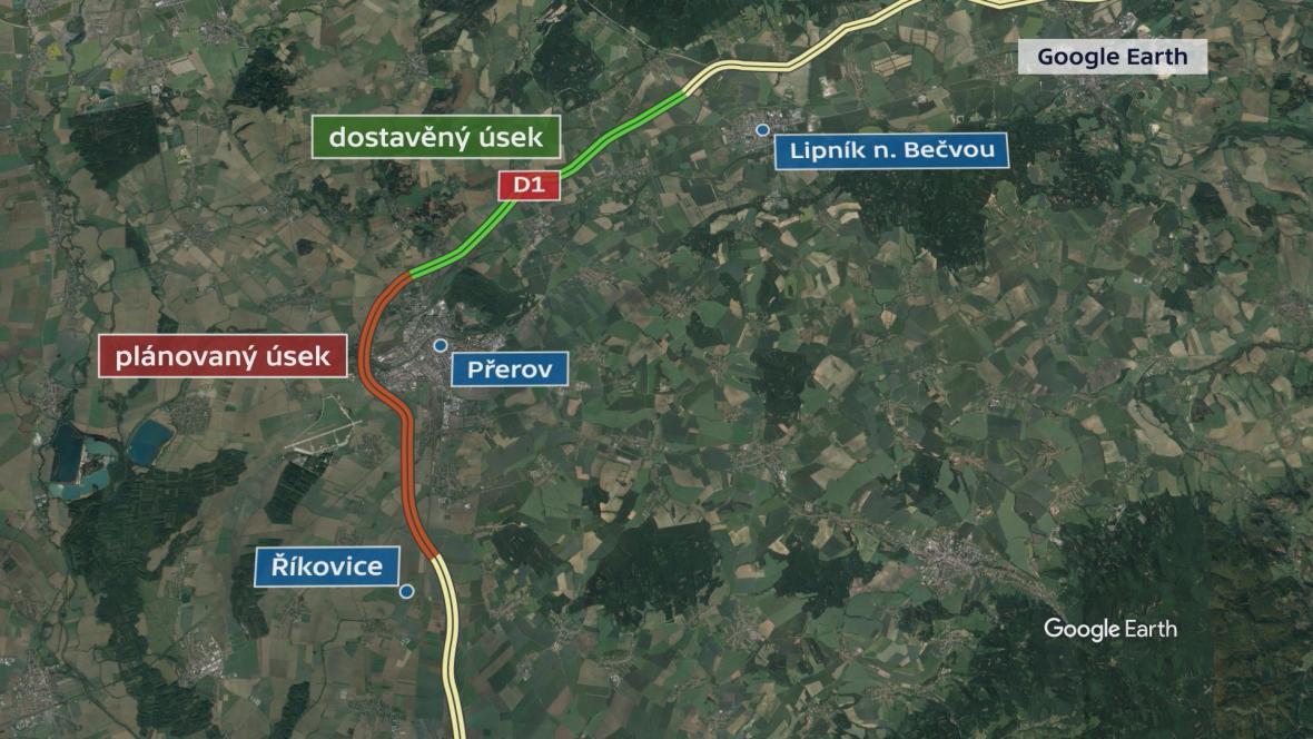Děti Země tvrdí, že stát tajil zahájení stavebního řízení na D1 u Přerova