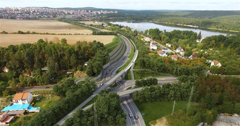 V Plzni končí stavba první části východního okruhu za více než 600 mil. Kč