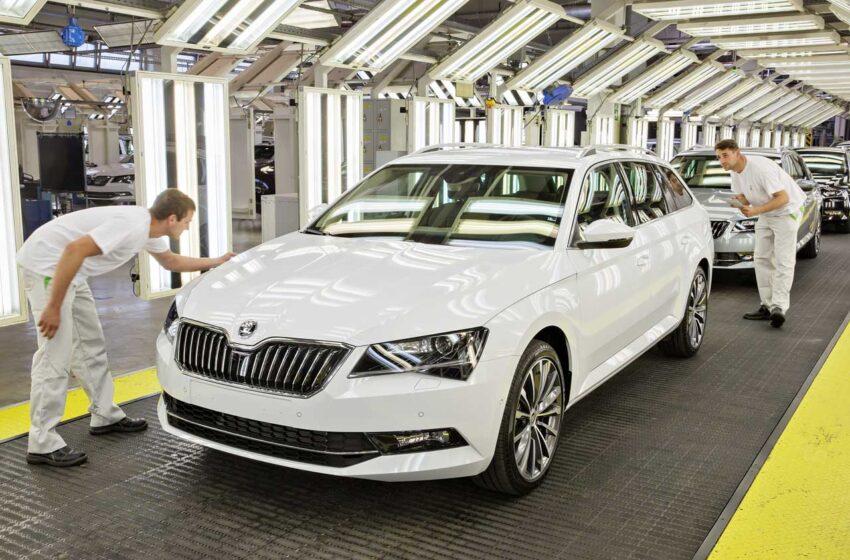 Vývoj výroby automobilů v Česku v prvním čtvrtletí vnáší mírný optimismus
