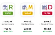 Řidiči zatím za nové dálniční známky utratili více než tři miliardy korun