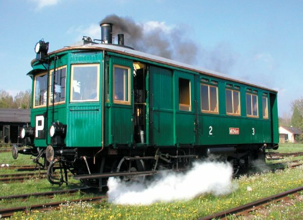 V Zubrnicích bude o víkendu jezdit historický parní vůz Komarek