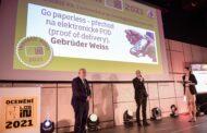 Gebrüder Weiss získal cenu za technologickou inovaci roku