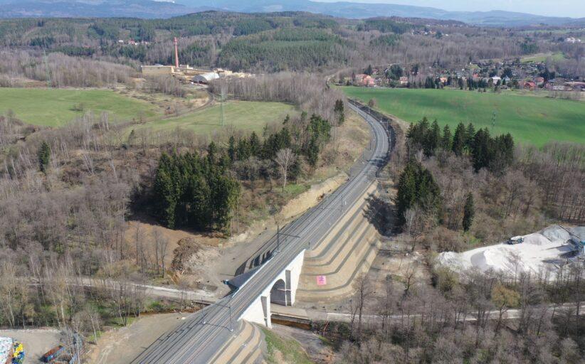 Cena ČKAIT za unikátní řešení nestabilních náspů železniční trati Chomutov - Cheb